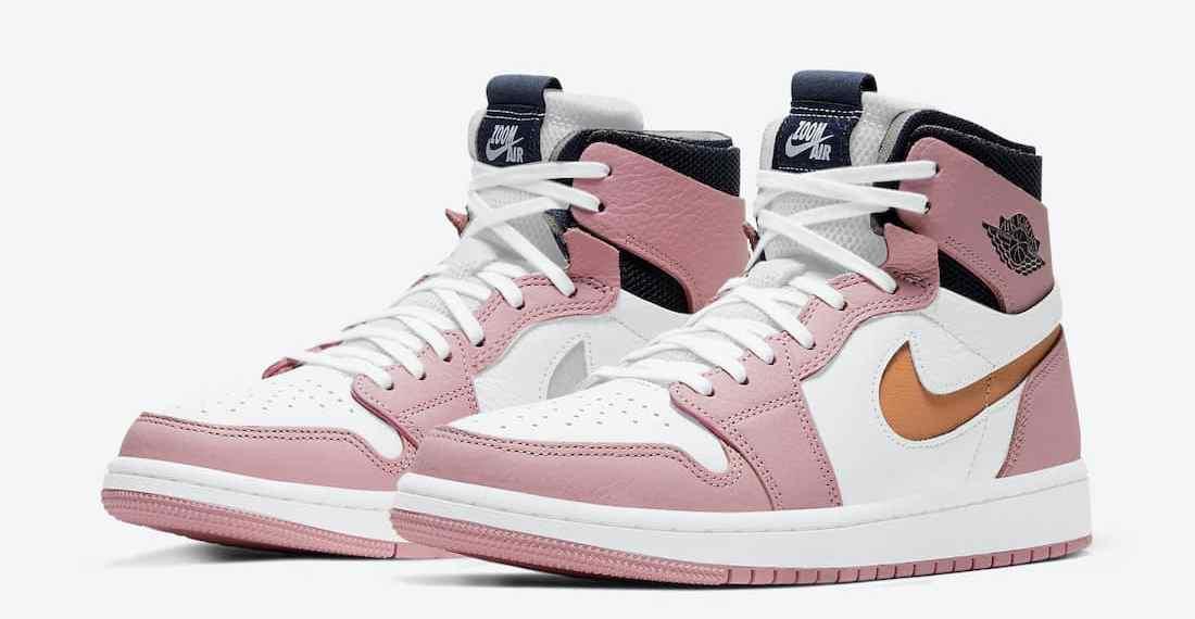 L'Air Jordan 1 High Zoom CMFT revient avec une paire de « Pink Glaze » revisitée