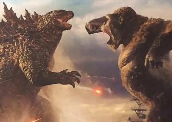 """Découvrez l'affiche du film """"Godzilla vs. Kong"""" !"""