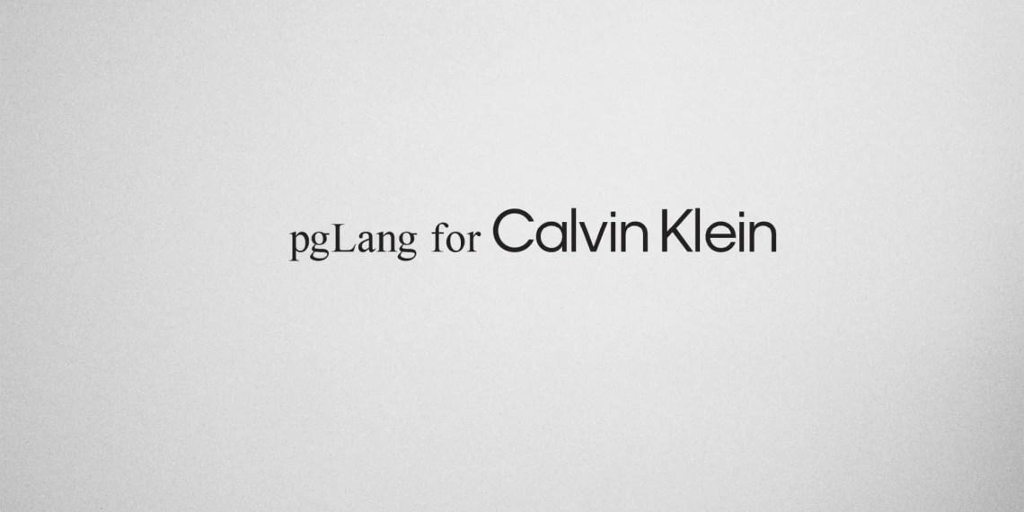 pgLang calvin klein