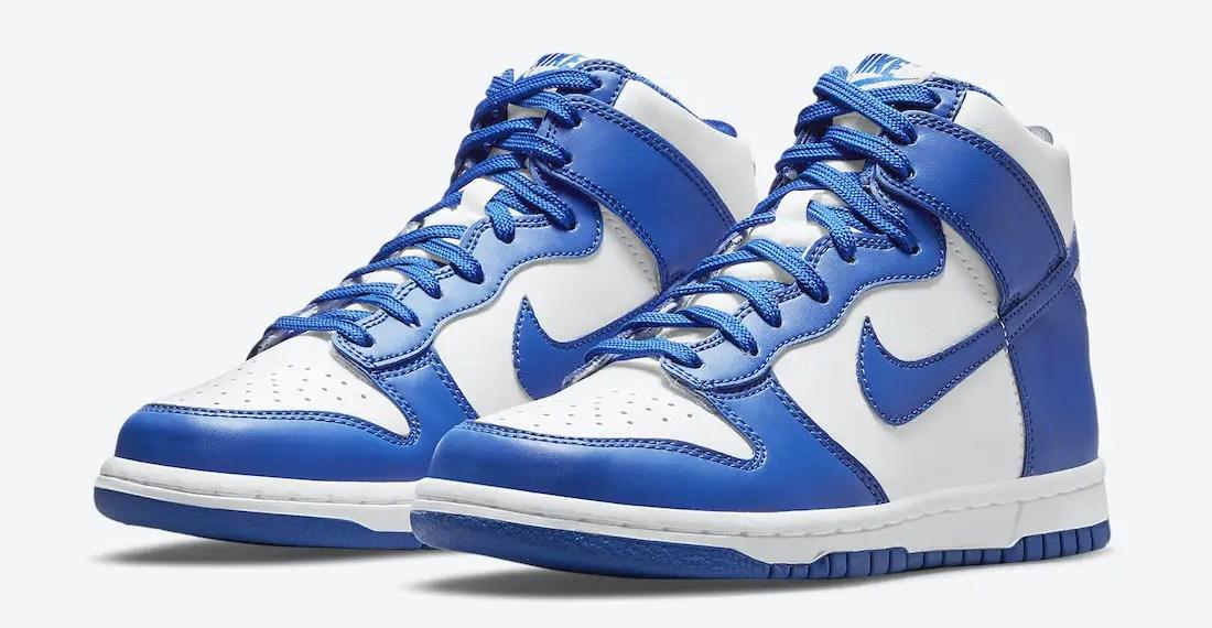 """Nike Dunk High """"Game Royal"""" Premier aperçu de la prochaine édition"""
