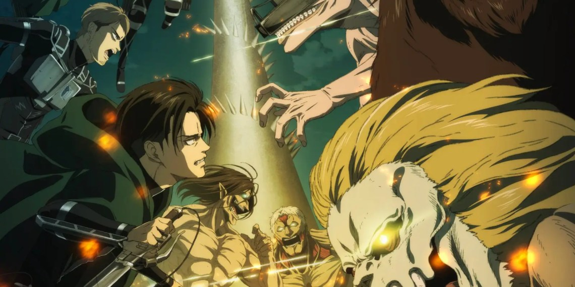 "L'attaque des titans (Shingeki no Kyojin) saison 4 épisode 11 ""Counterfeit"" - Streaming"