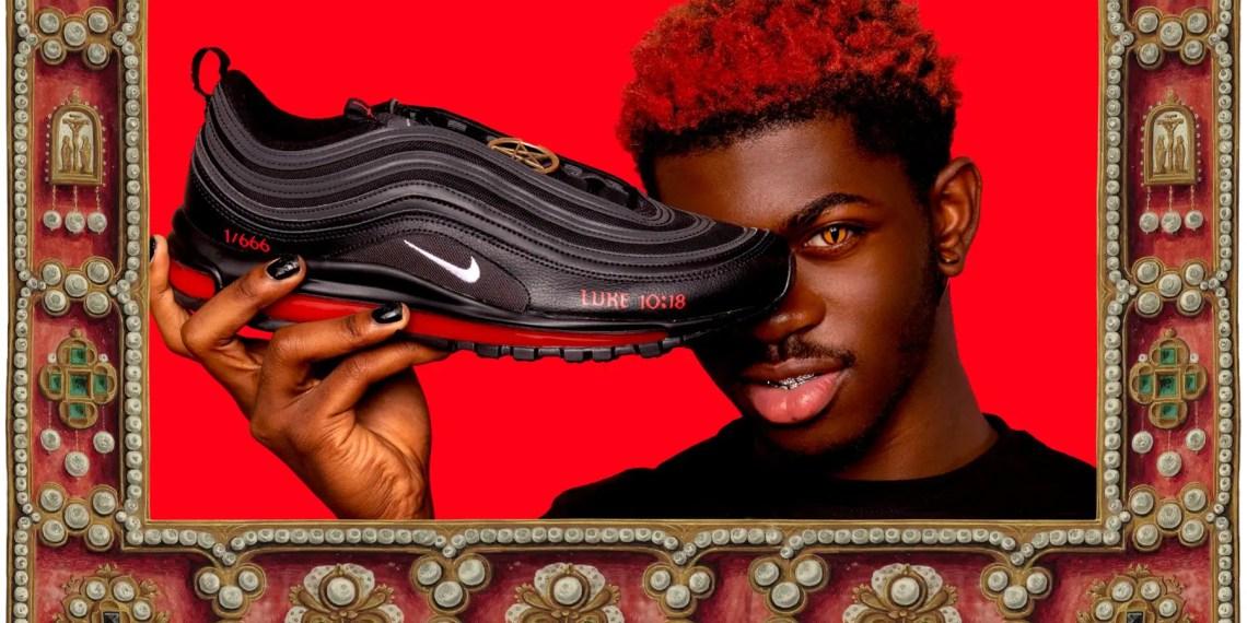"""Les """"Satan Shoes"""" de Nike du rappeur Lil Nas X contiendront du sang humain !"""