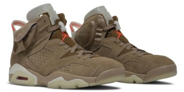 "La Travis Scott x Air Jordan 6 ""British Khaki » va drop cette année"