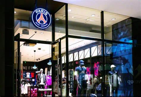 PSG première boutique