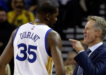 Steve Kerr désigne Kevin Durant comme plus «doué» que Micheal Jordan