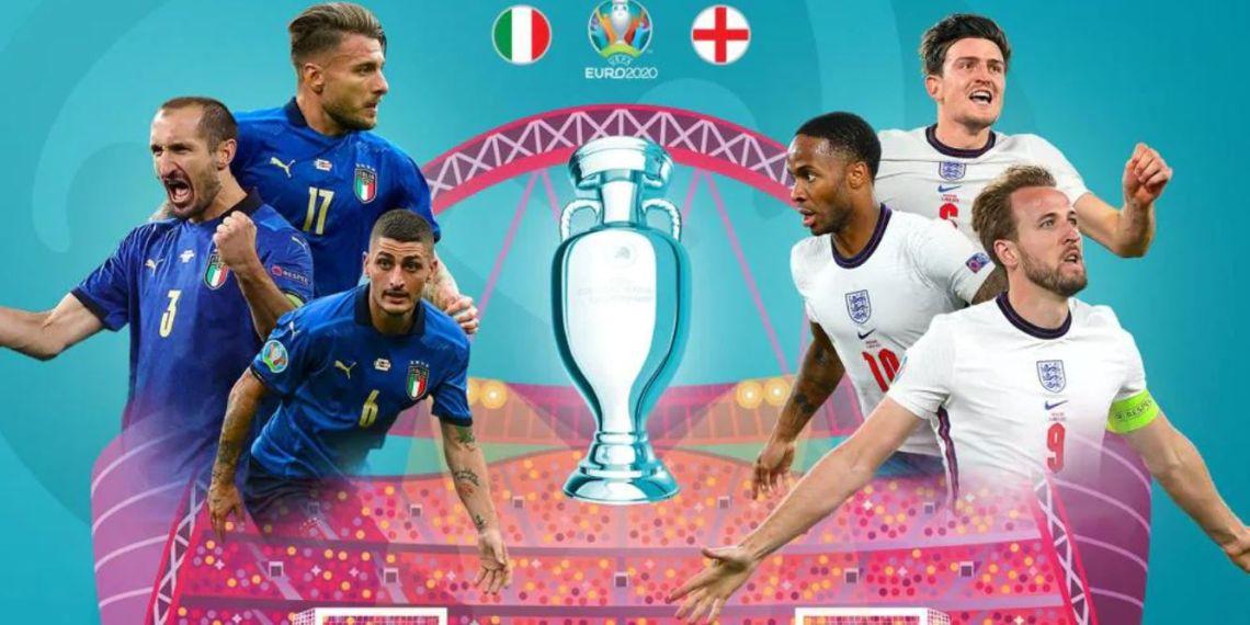 EURO 2021 Regarder la Finale Italie - Angleterre en streaming live.