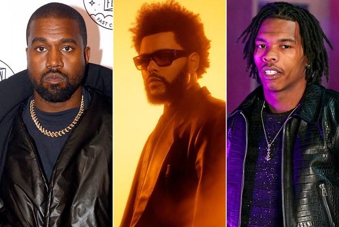 """Le nouveau single de Kanye West, """" Hurricane """", avec The Weeknd et Lil Baby, arrive !"""