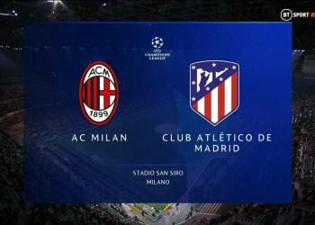 Ligue des champions : Regarder AC Milan vs Atletico Madrid en streaming