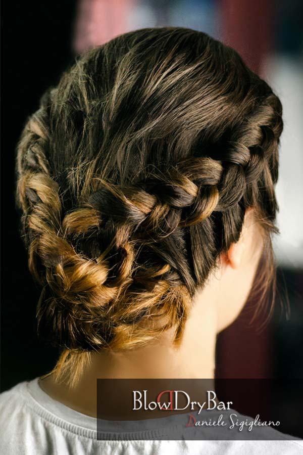 Peinados a lo Frida Kahlo  Blow Dry Bar