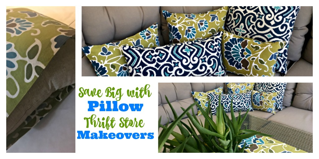 Ugly Pillow Makeovers that save Money