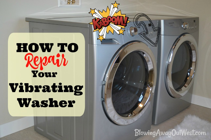 How to Fix a Vibrating Washing Machine