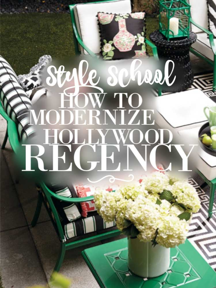 How To Modernize Art Deco U0026 Hollywood Regency Style For Your Home