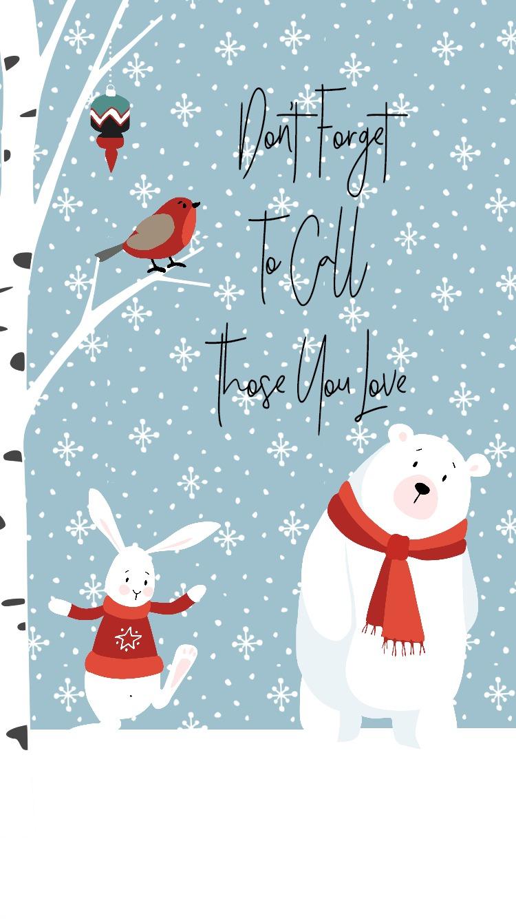 Forest Friends FREE Christmas Printables | blowingawayoutwest.com - Christmas free downloadable set of 8x10 prints with bonus phone digital wallpaper #christmasprintable #christmasdigitalwallpaper #christmasprints #gallerywall