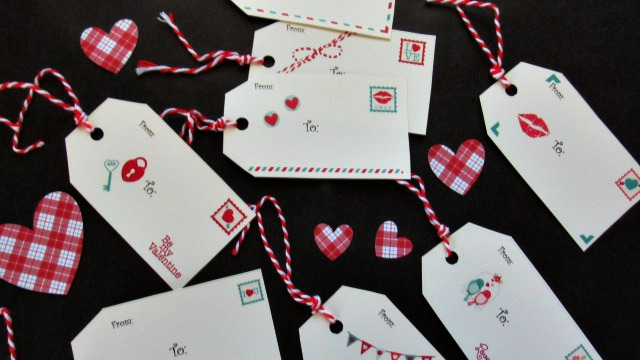 Valentine's Day Gift Tags : Sending You My Love