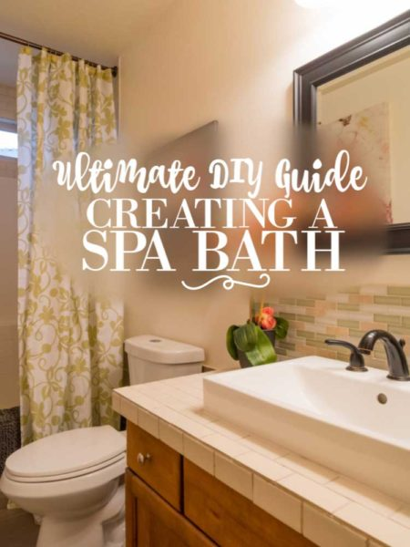 Ultimate Diy Guide To Creating A Spa Bathroom Retreat Crafting Is My Therapy