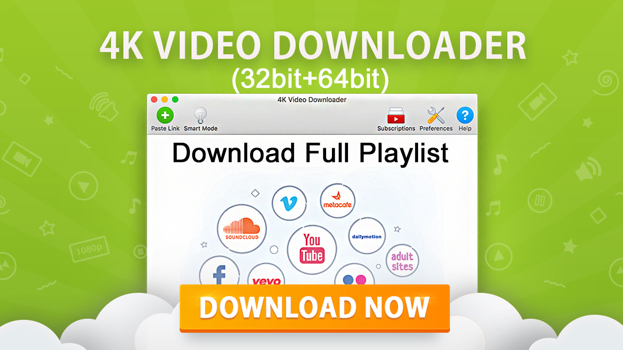4k Video Downloader 4.5.0.2482 32bit64bit Free Download Latest