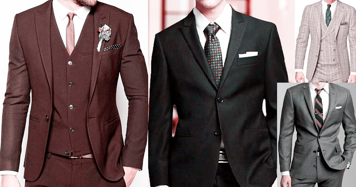 Top 5 trendy suit color for men