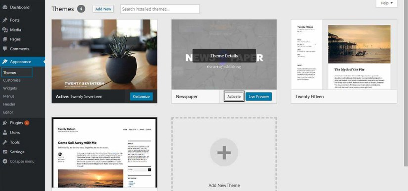 How To Install Newspaper 9 Premium Theme