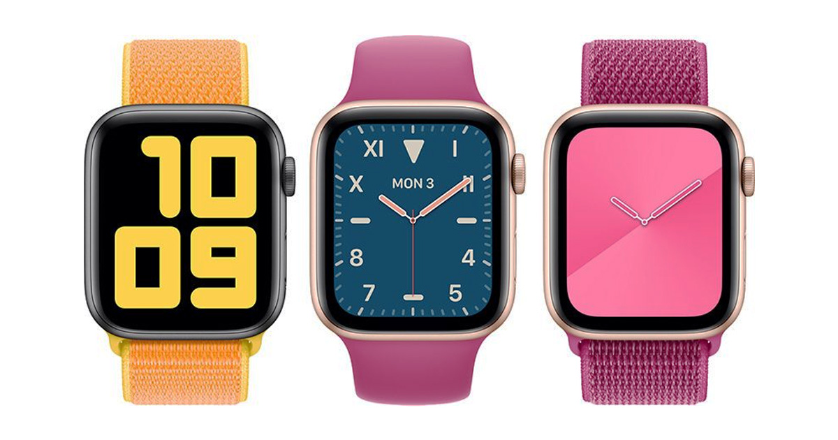 Apple WatchOS New Watch Faces