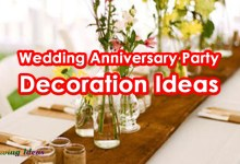 Photo of Top 10 Wedding Anniversary Party Decoration Ideas