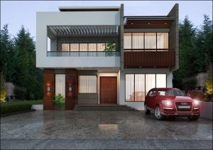 Best 1 Kanal House Design Ideas 45