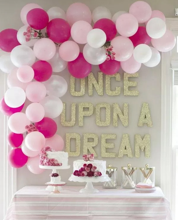 Dreamy Birthday Party Room Decorations