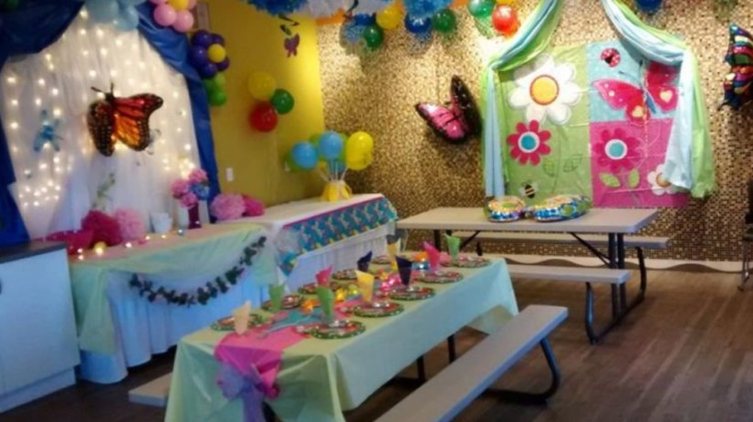 Happy Birthday Party Night Room Design Idea