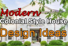 Photo of Modern Colonial Style House Design Ideas