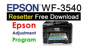 Epson WorkForce WF-3540 Resetter