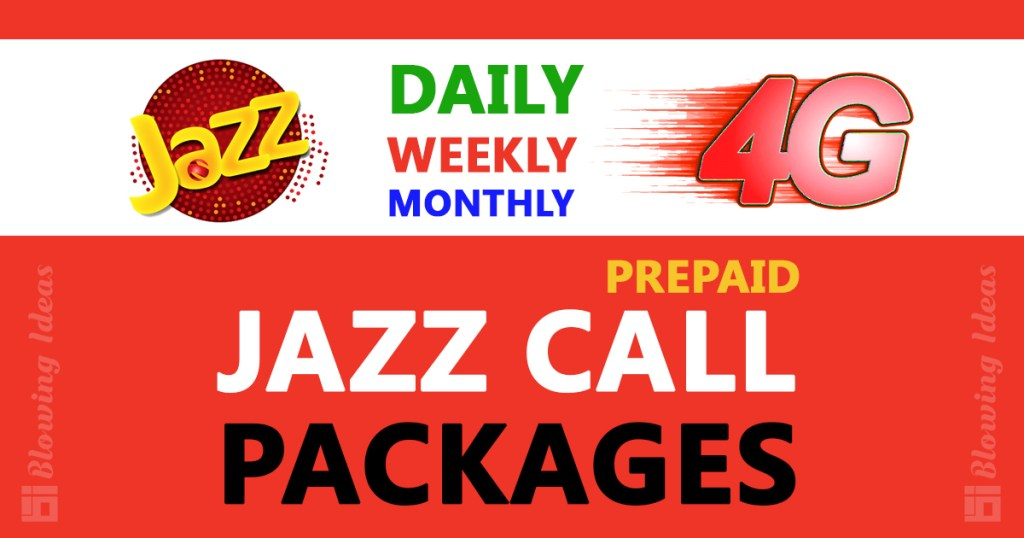 Jazz Call Packages Daily Weekly Monthly