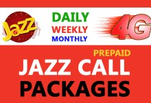 Photo of Jazz Call Packages | Daily, Weekly & Monthly