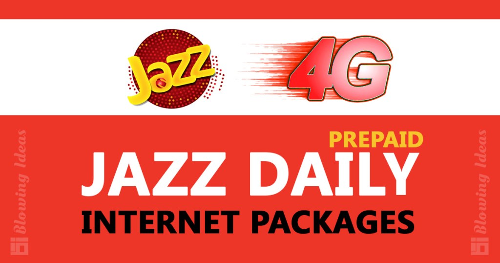 Jazz Daily Internet Packages Prepaid Packages