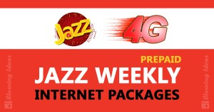 Jazz Weekly Internet Packages