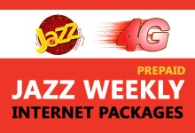 Photo of Jazz Weekly Internet Packages | Prepaid Packages
