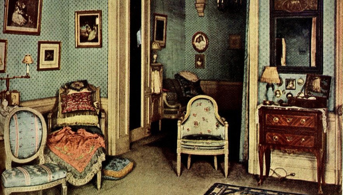 1920 French Room Interior Design