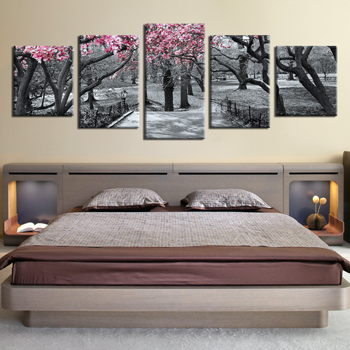 Bedroom Wall Decor With Paintings