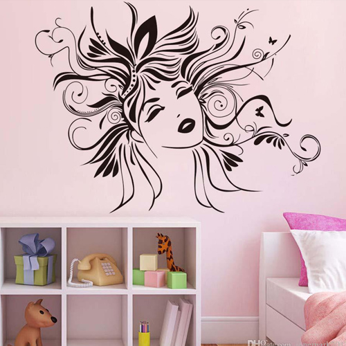 Bedroom Wall Designs For Girls With Creative Sketches