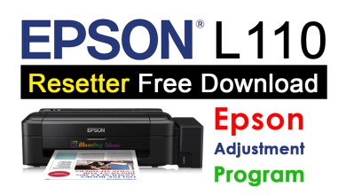 Photo of Epson L110 Resetter Adjustment Program Free Download