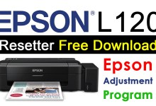 Resetter Epson L120 Adjustment Program Free Download