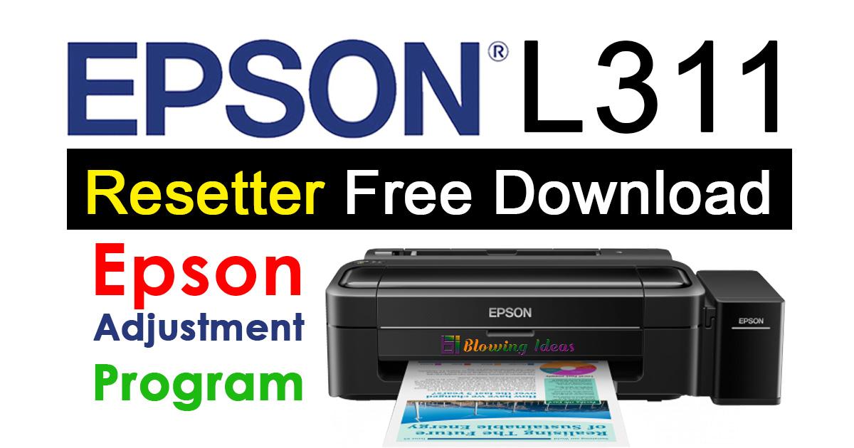 Epson L311 Resetter