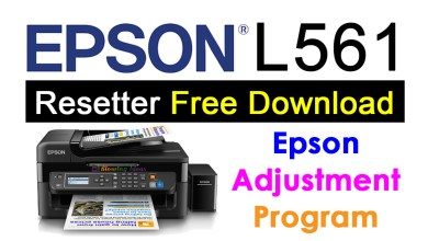Photo of Epson L561 Resetter Adjustment Program Free Download