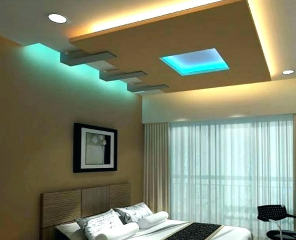 Lightning Ceiling Design For Bedroom