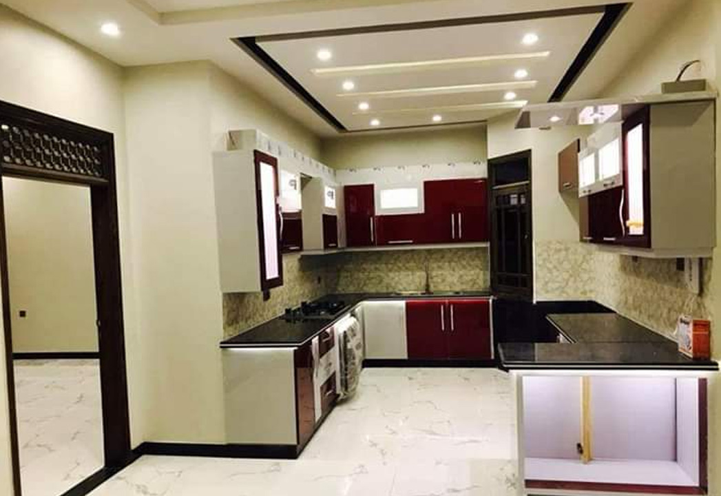 Unique Kitchen Ceiling Design