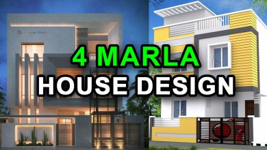 Photo of 4 Marla House Design Ideas with 3D Elevation