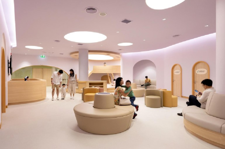 Childrens Hospital Lobby Design