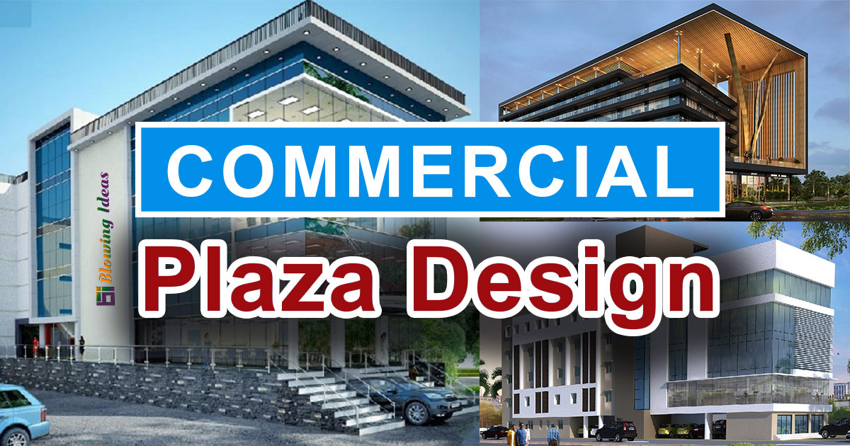 Commercial Plaza Design Elevations