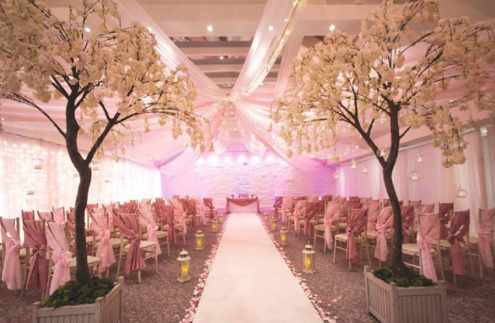 Fairytale Wedding Reception Decoration