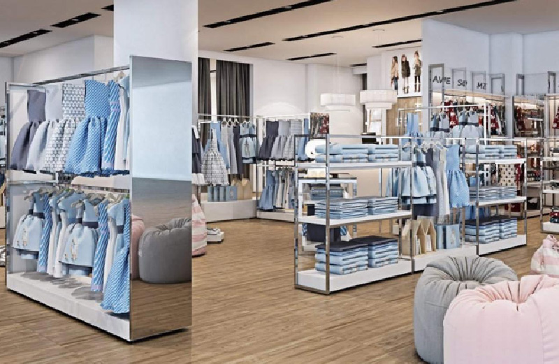 Garments Shop Interior Design