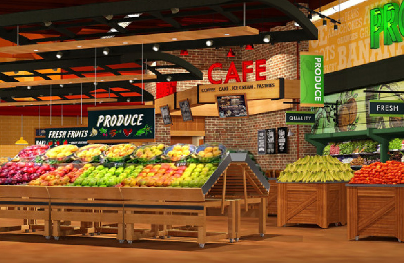 Grocery Shop Interior Design