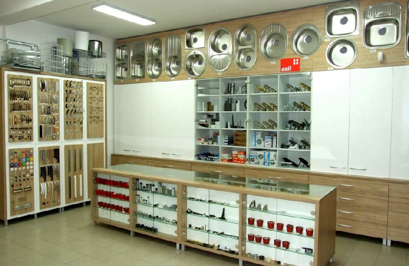 Hardware Shop Interior Design